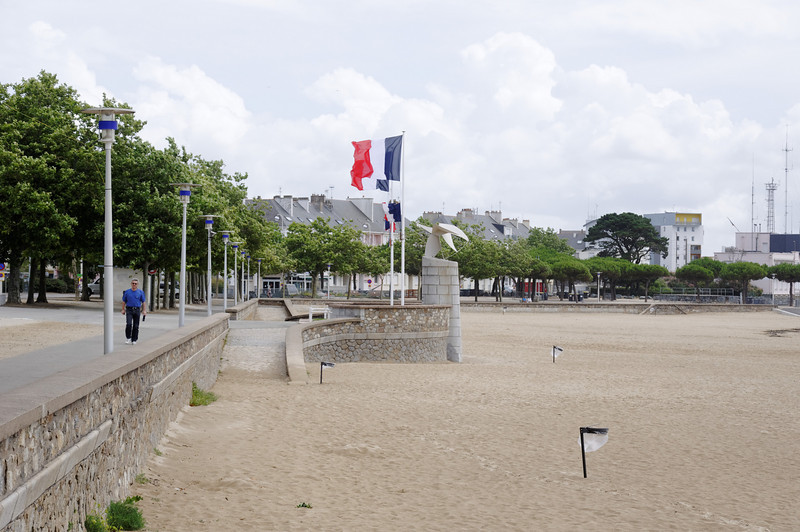Waterfront in Saint-Nazaire