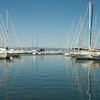 Harbor: On the island of Porquerolles, off Hyères, in southern France