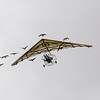 The Phantom Birds Dance at Puy de Fou. Part of the grand finale included this ultralight with geese following behind.