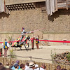 Another spectacle, The Secret of the Lance, including medieval jousting, flames, etc.