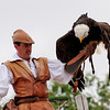 The Phantom Birds Dance at Puy de Fou. ?? What's a bald eagle doing in France?