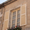 A local windowbox: At Vezelay, a larger village (of 300!) near Blannay