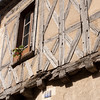 Tudor construction -- from the Tudor era!: In the old town of Avallon, Burgundy, which was built in the 16th & 17th centuries