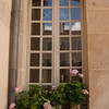 Windowbox, Museum of Clothing: In the old town of Avallon, Burgundy, which was built in the 16th & 17th centuries