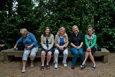 Deborah, Mona, Rosemary, Dianna and Denise