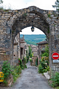 Medieval town of Bruenquil