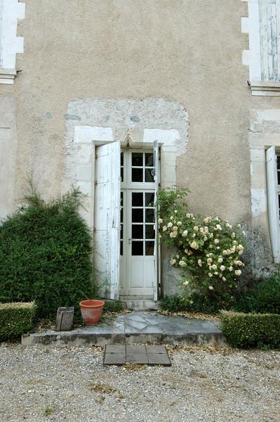 The charming front door.