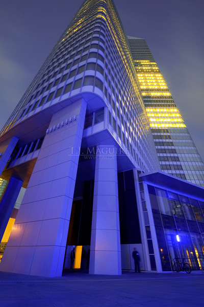 Office Tower at La Defense, Paris France
