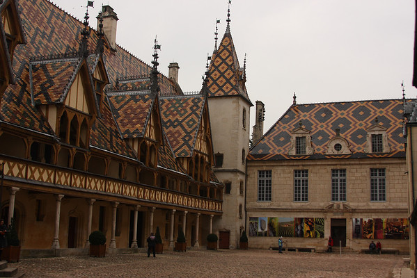 Hôtel-Dieu de Beaune - Hospital for the poor, built 1443