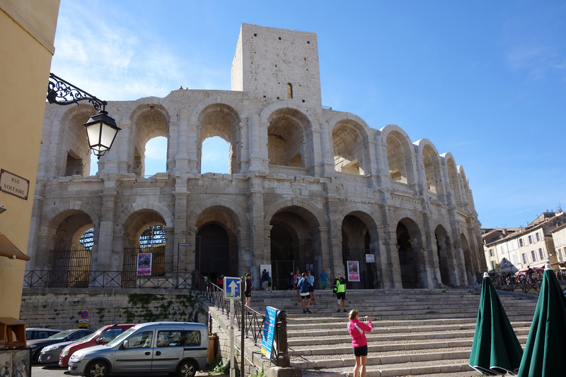 Arles has an old Roman coliseum that was interesting to visit.