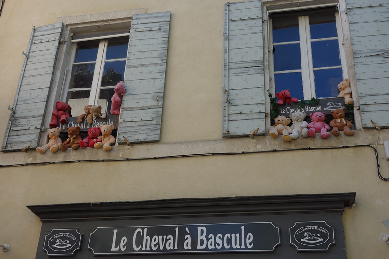 A cute shop on our first afternoon in Aix-en-Provence.