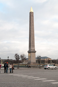 Obelisk at the Place de Concorde.