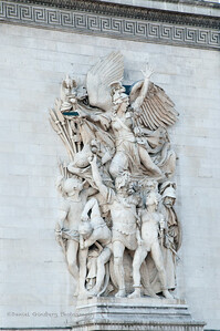Arc de Triomphe relief.