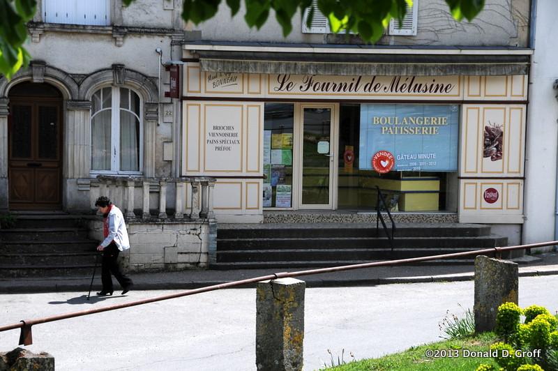 Vouvant's bakery.