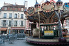 Carousel in Dijon, France.
