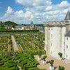 Garden of changing or dancing Love adjoins the Chateau de Villandry .<br /> Visited and photographed on May 30, 2014.
