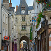 Gate of the old town of Amboise.