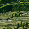 Formal gardens of Chateau de Villandry.<br /> Photographed May 30, 2014