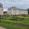 Chateau de Chenonceau as viewed from the formal garden created by Catherine de' Medici.<br /> We visited and photographed in the afternoon of May 29, 2014.