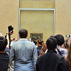 Trying to view the Mona Lisa in the Louvre Museum in Paris.<br /> June 2, 2014