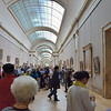 Visiting the Louvre Museum in Paris.<br /> June 2, 2014