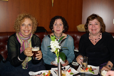 Marilyn Fiedler, Marlene Rimland and Sue Levine