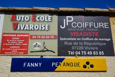 Petanque Club: Fanny Petanque at Viviers