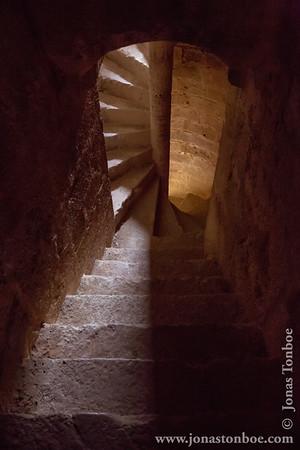France.  Languedoc-Roussillon. Cucugnan. Château de Quéribus