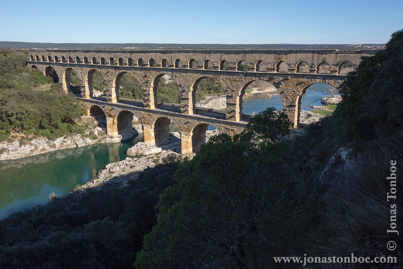 Pont du Gard and Gardon River