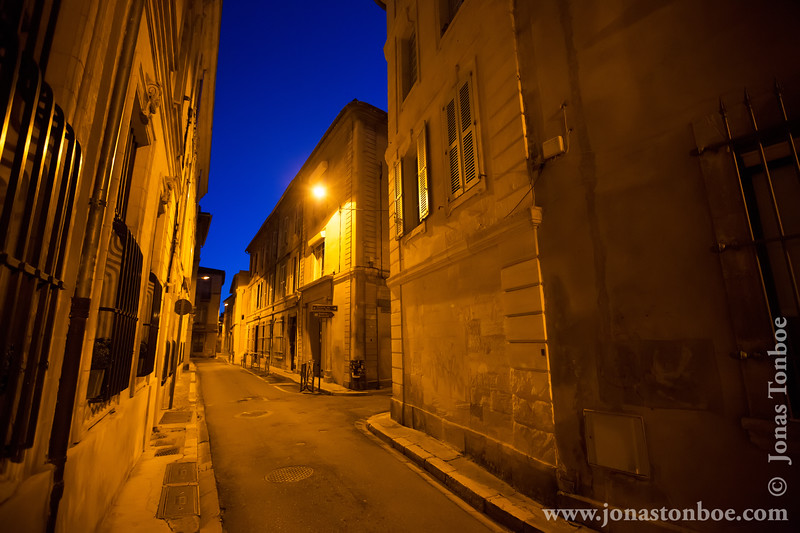 Avignon in the Early Morning Hours