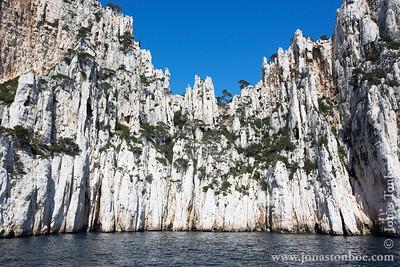 Provence-Alpes-Côte d'Azur. Calanques National Park. L'intégrale des calanques boat tour