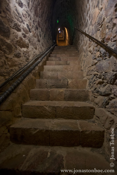 Stairs to Fort Libéria (734 steps)