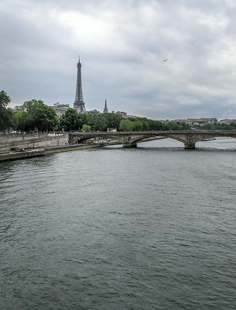 Eiffel Tower on the Seine