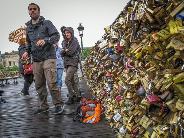 Pont des Arts - the Love Lock Bridge