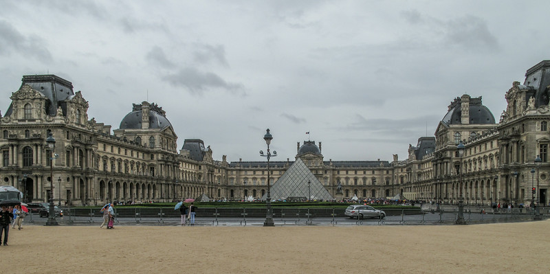 Nothing can prepare you for the scale of the Louvre.  14 km of exhibit halls.