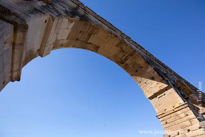 Provence-Alpes-Côte d'Azur. Vers-Pont-du-Gard. Pont du Gard