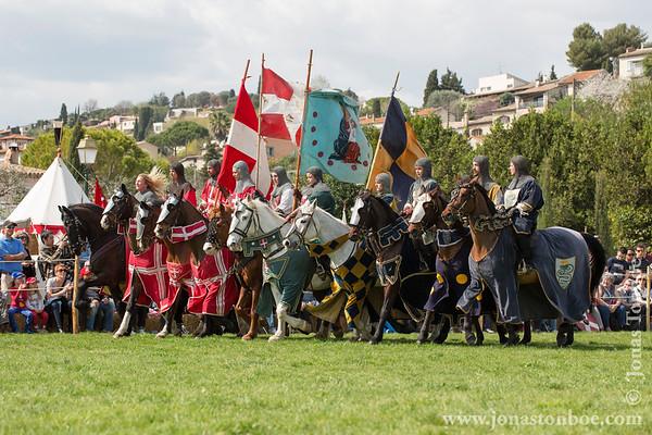 Provence-Alpes-Côte d'Azur. Biot. Biot et les Templiers festival: Horse show