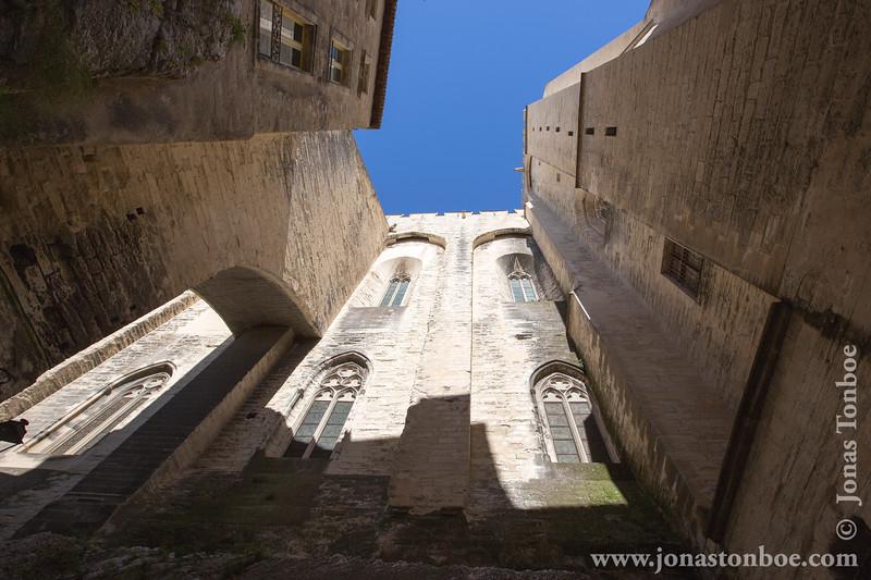 View from La Rue de la Peyrolerie