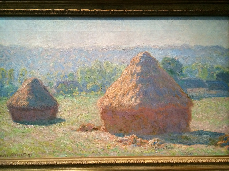 Monet's Haystacks