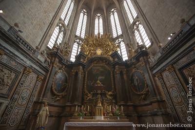 Provence-Alpes-Côte d'Azur. Saint-Maximin-la-Sainte-Baume. Basilique Sainte-Marie-Madeleine