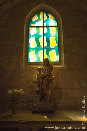 Languedoc-Roussillon. Église Notre-Dame-des-Sablons