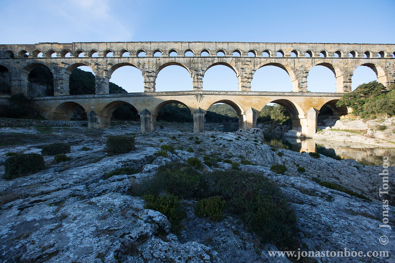 Pont du Gard and Gardon River
