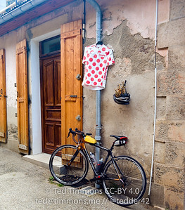 Off for a checkout ride! This is the chalet I'm staying at- King Of The Mountains. It's actually in an old schoolhouse.