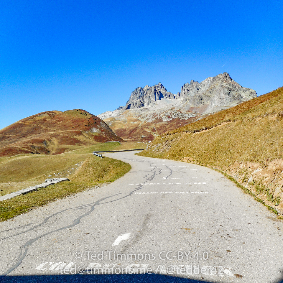 The final 8% ramp to Col du Glandon.