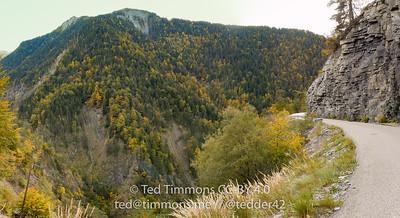 Part of the Villard-Reymond climb.