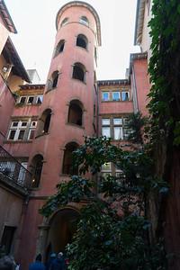 Mine's bigger! Staircase in Lyon
