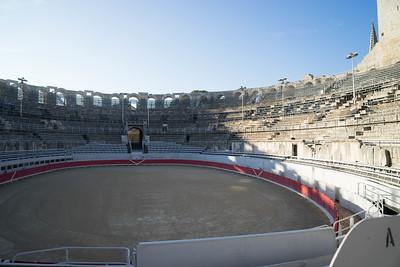 Roman coloseum in Arles