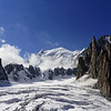 Mont Blanc - the glacier
