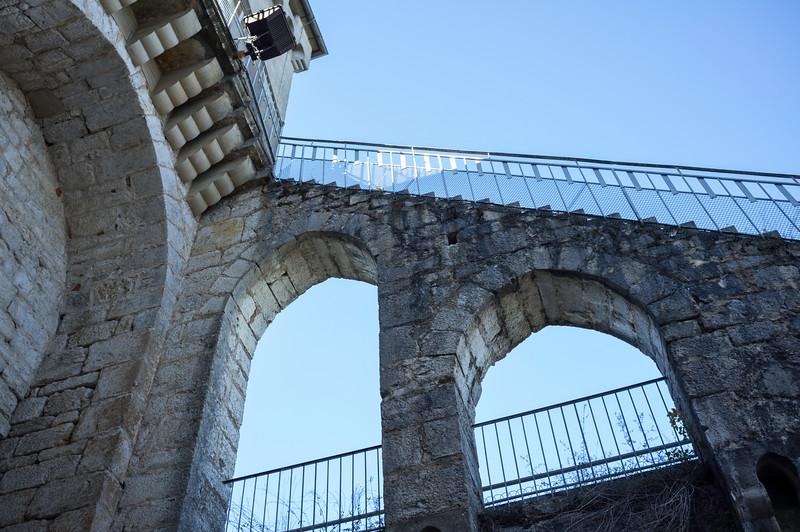 A climb to the parapets