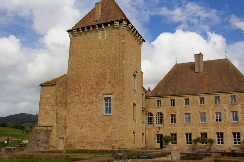 Chateau de Piereclos, Burgandy